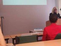 Dr. Yurdagül Atun, Almanya, Würzburg Üniversitesinde KKTC'yi temsil etti.