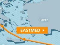 """""""Tımes Of Israel"""" gazetesine göre Güney Kıbrıs, Yunanistan, İtalya ve İsrail Eastmed konusunda anlaştı"""