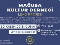 LEAD Projesi Lansman Etkinliği Yapılıyor