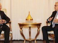 Akıncı, İsrail Büyükelçisi Shmuel Revel'i kabul etti