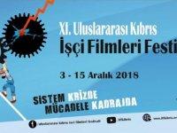 11. Uluslararası Kıbrıs işçi filmleri festivali 3-15 Aralıkta…