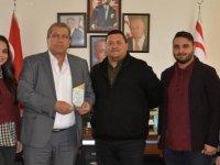 Mersin'de ülkemizi temsil eden Halk Dansları Derneği Arter'i ziyaret etti