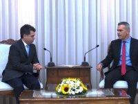 Uluçay, Türkiye Gençlik ve Spor Konfederasyonu Heyetini kabul etti
