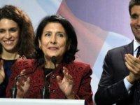 Salome Zurabişvili Gürcistan'ın ilk kadın cumhurbaşkanı oldu