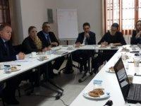 Hukuk komitesi çalışma toplantısı gerçekleştirdi