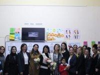 """DAÜ akademisyenlerinden Yeni Boğaziçi İlkokulu'nda """"Çocuk Haklarının Korunması"""" konulu söyleşi"""