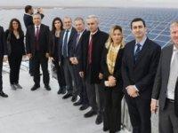 KTSO, YAGA ve Kalkınma Bankası heyetleri Türkiye'nin en büyük güneş elektrik santrali ziyaret etti