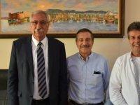 Eskişehir Tepebaşı Belediye Başkanı Güngördü'yü ziyaret etti