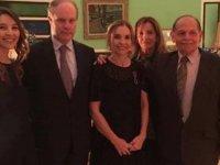 Kıbrıslı Türk Dr. Ferdiye Ersoy'a Fransa Devleti Akademik Palm Şövalye Nişanı verildi