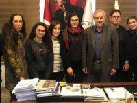 Tatlısu'da bulunan Minia Kıbrıs'a okulların ilgisi devam ediyor