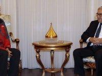 Akıncı, Türkiye Emekli Subaylar Derneği Heyetini kabul etti