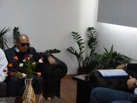 Engelliler Federasyonu Heyeti Bakan Çeler'i ziyaret etti
