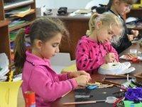Çocuk sanat eğitimi başladı