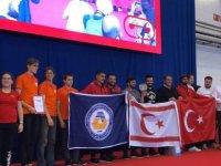 DAÜ IEEE Robot Takımı Robotex 2018 yarışması'nda birinci oldu