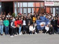 DAÜ yabancı diller ve ingilizce hazırlık okulu'ndan yaşlılara ziyaret