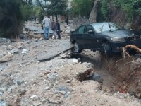 İşte Lapta'da yaşanan sel felaketinin fotoğrafları
