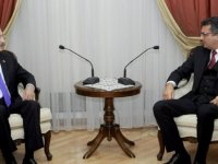 Erhürman, Kılıçdaroğlu'nu kabul etti