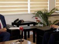 Türkiye Gençlik ve Spor Konfederasyonu Arter'i ziyaret etti