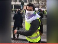 Fransa'da TRT ekibine tepki! (Video-Haber)