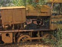 CMC maden ocağında bulunan Vinçli vagon Lokomotif ve Yük Vagonları müzede sergilenecek
