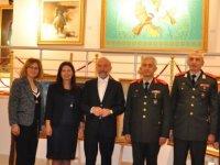 Güvenlik Kuvvetleri Komutanı Tuğgeneral Tevfik Algan YDÜ'de sergi ve müzeleri gezdi