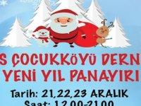 Sos Çocukköyü yeni yıl panayırı düzenliyor
