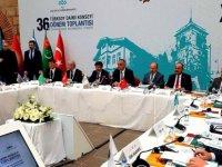 Hamzaoğulları Türksoy Daimi Konseyi 36. dönem toplantısı'na katıldı