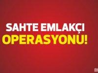 Polisten Lefkoşa'da sahte emlakcı operasyonu