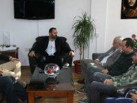 Birleşik Kıbrıs Partisi Heyeti, KTAMS'ı ziyaret etti