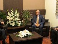 Eroğlu, UBP Genel Başkanı Tatar'ı ziyaret etti