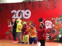 Güzelyurt Belediyesi, çocuklara yönelik yeni yıl eğlencesi düzenledi