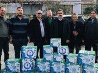 Mekanik Sıhhi Tesisatçılar Birliği Dikmen Belediyesine malzeme yardımında bulundu