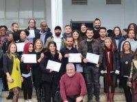 DAÜ'de sertifika töreni düzenlendi