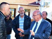 Özyiğit, Serdarlı İlkokulu'nu ziyaret ederek incelemelerde bulundu