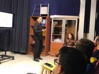 Ali Kurtoğlu YDÜ'lü öğrencilerle atölye çalışması yaptı