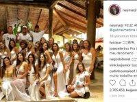 Neymar yılbaşına 26 kadınla girdi!