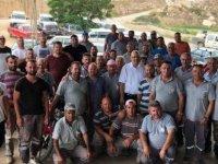 Mehmetçik Belediyesi çalışanlarından sel mağdurlarına destek