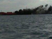 Güney Kıbrıs'ta doğal gaz taşıyan yük gemisinde patlama