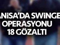 Manisa'da 'swinger' operasyonu