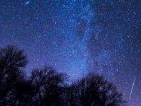 Gece Meteor yağmuru var
