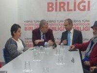 BKP, Kıbrıs Türk Gazeteciler Birliği'ni ziyaret etti