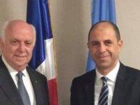 Özersay, BM Güvenlik Konseyi Dönem Başkanı ile görüştü