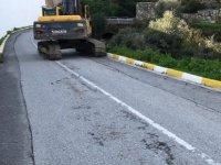 Girne Belediyesi köprülü sokak'ta çalışma başlattı