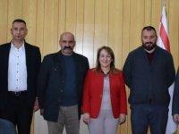 Sağlık Bakanı Filiz Besim muhtarlarla görüştü