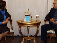 Cumhurbaşkanı Akıncı, Mağusa Kültür Derneği heyetini kabul etti