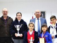 Özyiğit, Mental Aritmetik Şampiyonası'nda Dereceye Giren Öğrencileri Kabul Etti
