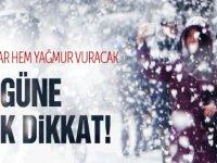 Önemli uyarı! Havaya aldanmayın! Meteoroloji uyardı kar ve don geliyor!