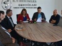 Sağlık Bakanı Besim Tıp-İş ile protokol imzaladı