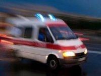Bir ilk: Kızılaylı bir ambulans güneydeki hastaneye hasta taşıdı (VİDEO)