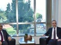 LTB Başkanı Harmancı, Büyükelçi Başçeri'yi kabul etti